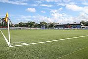 Gander Green Lane, the home of Sutton United during the The FA Cup 4th qualifying round match between Sutton United and Forest Green Rovers at Gander Green Lane, Sutton, United Kingdom on 15 October 2016. Photo by Shane Healey.