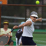 Jeanine Lieffrig, South Africa, winning the 70 Womens  Singles Final during the 2009 ITF Super-Seniors World Team and Individual Championships at Perth, Western Australia, between 2-15th November, 2009.