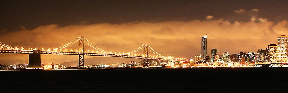The Old Bay Bridge<br /> San Francisco, California