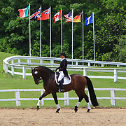 Annaliese Farber and Sandro's Heir at the 2010 Equivents Spring Classic in Milton, Ontario.