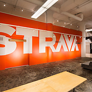 Interior image of Strava HQ San Francisco, CA Office infrastructure- architectural and Interior Photography example of Chip Allen's work.