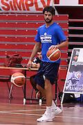 Luca Vitali <br /> Germani Basket Brescia allenamento<br /> Lega Basket Serie A 2016/2017<br /> Brescia 24/08/2016<br /> Foto Ciamillo-Castoria