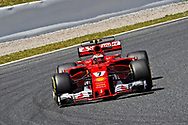 Kimi Raikkonen of Scuderia Ferrari of Scuderia Ferrari during the practice session of the Spanish Formula One Grand Prix at Circuit de Catalunya, Barcelona, Spain.<br /> Picture by EXPA Pictures/Focus Images Ltd 07814482222<br /> 12/05/2017<br /> *** UK &amp; IRELAND ONLY ***<br /> <br /> EXPA-EIB-170512-0171.jpg