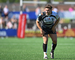 Pontypridd's Joe Page<br /> Pontypridd RFC v Cardiff RFC<br /> <br /> Photographer Mike Jones / Replay Images<br /> Sardis Road, Pontypridd.<br /> Wales - 5th May 2018.<br /> <br /> Pontypridd RFC v Cardiff RFC<br /> Principality Premiership<br /> <br /> World Copyright © Replay Images . All rights reserved. info@replayimages.co.uk - http://replayimages.co.uk