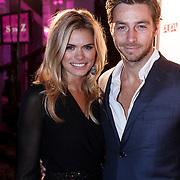 NLD/Amsterdam/20131111 - Beau Monde Awards 2013, Nicolette van Dam en ...........