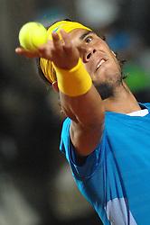 29-04-2010 TENNIS: ATP MASTERS: ROME<br /> Rafael Nadal (ESP)<br /> ©2010- FRH nph / A. Baldassarre
