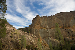 Machete Ridge viewed from the Balconies Cliffs Trail, Pinnacles National Monument, California, United States of America
