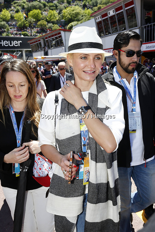 59707375 .Actress Cameron Diaz attends Formula One Grand Prix of Monaco on May 26, 2013, in Monte Carlo, Monaco..UK ONLY