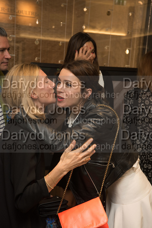 ELIZABETH VON GUTTMAN; ASTRID MUNOZ; LARA BOHINC;, preview of 'UNBRIDLED SYNCHRONY', an exhibition of works by photographer Astrid Muñoz. Jaeger-LeCoultre Boutique<br /> 13 Old Bond Street. London. 13 July 2015