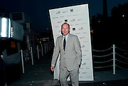KEVIN SPACEY, The opening night party for the second year of The Bridge Project,   Silverfleet on the River Thames. Savoy Pier. London. 23 June 2010. -DO NOT ARCHIVE-© Copyright Photograph by Dafydd Jones. 248 Clapham Rd. London SW9 0PZ. Tel 0207 820 0771. www.dafjones.com.