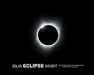 Total Solar Eclipse as seen from the National Historic Oregon Trail Interpretive Center near Baker City Oregon, Monday, Aug. 21, 2017. (Photo/John Froschauer)