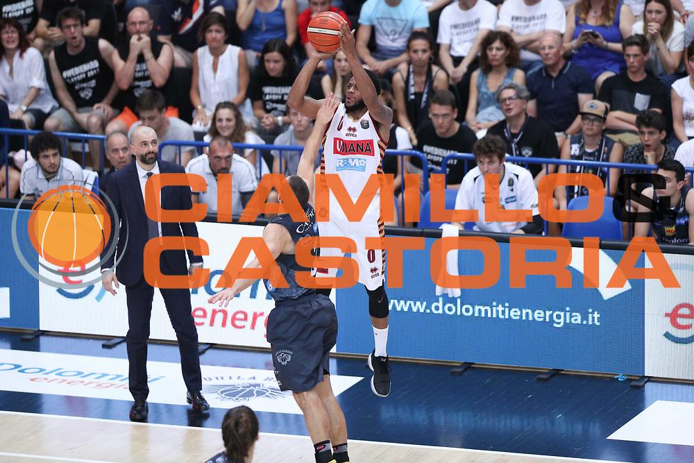 Haynes Marquez, Dolomiti Energia Trentino vs Umana Reyer Venezia LBA Serie A Playoff Finale gara 3 stagione 2016/2017 Pala Trento, Trento 14 giugno 2017