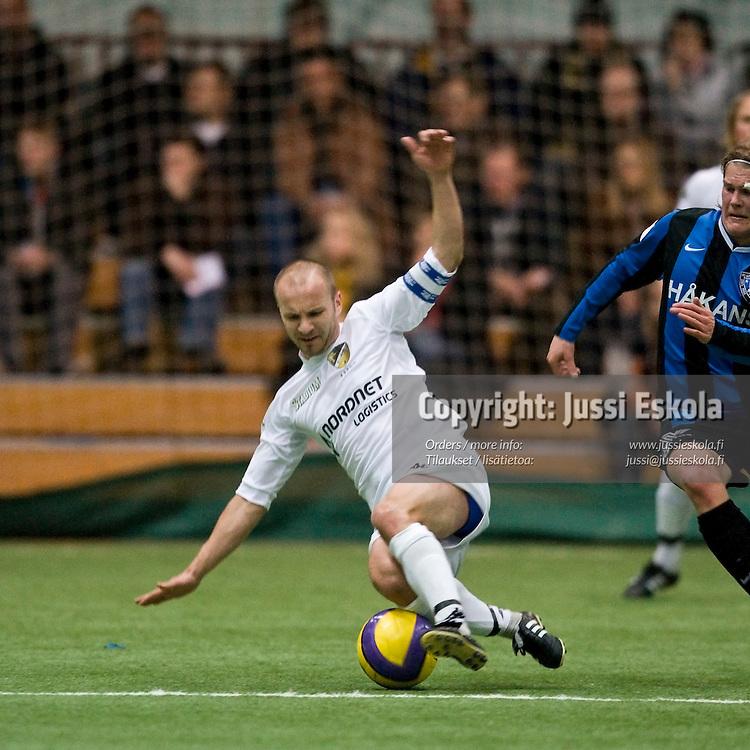 Tero Koskela. Inter - Honka. Liigacup, välierä. Helsinki 5.4.2008. Photo: Jussi Eskola