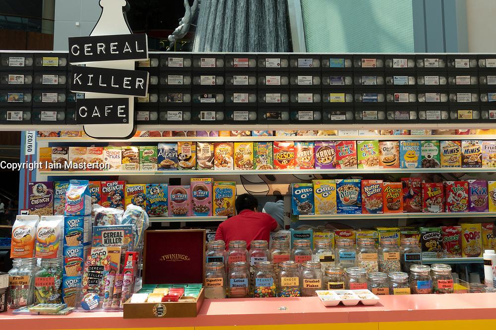 Cereal Killer Cafe  inside Dubai Mall, UAE