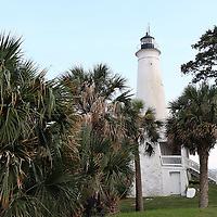 St. Marks National Wildlife Refuge and Lighthouse along the Big Bend Scenic Highway in the Apalachicola National Forest in Florida. (AP Photo/Alex Menendez) Florida scenic highway photos from the State of Florida. Florida scenic images of the Sunshine State.