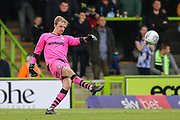 Forest Green Rovers goalkeeper Lewis Thomas(24) during the EFL Sky Bet League 2 match between Forest Green Rovers and Crawley Town at the New Lawn, Forest Green, United Kingdom on 5 October 2019.