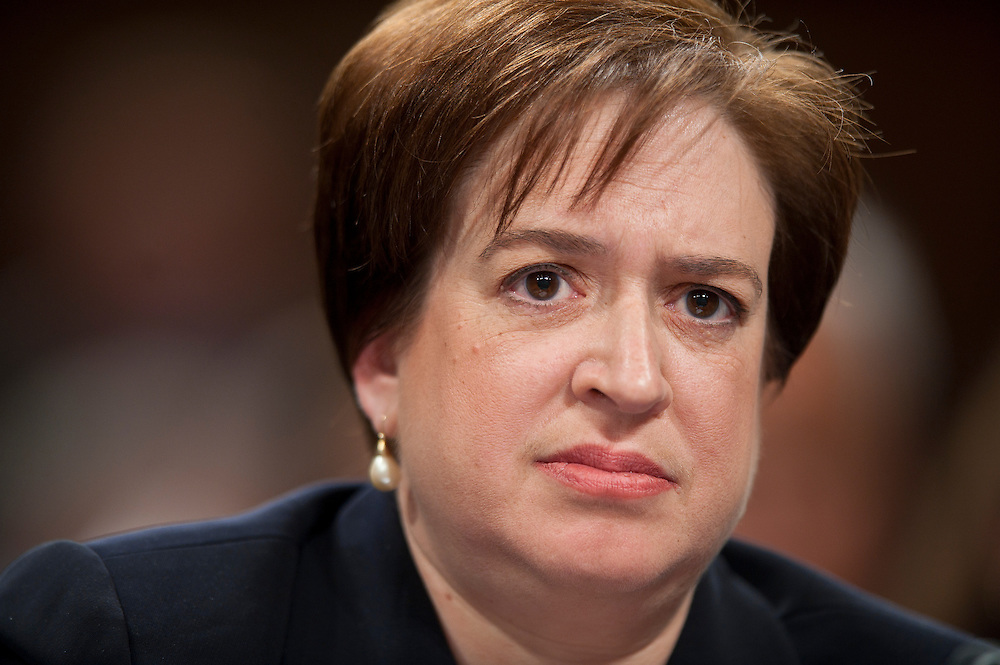June 30, 2010 - Washington, District of Columbia, U.S., -  Solicitor General Elena Kagan appears before the Senate Judiciary Committee for her third day of hearings on her nomination to be an associate justice of the Supreme Court.(Credit Image: © Pete Marovich/ZUMA Press)