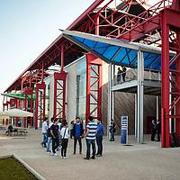 Sede distaccata del Politecnico di Torino dedicata all'automotive e alla mobilità sostenibile, ricavata da un'area dismessa degli stabilimenti Fiat Mirafiori di corso Settembrini  Torino 1/10/2015
