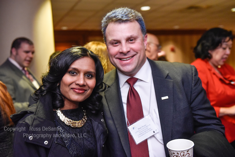 The New Jersey Chamber of Commerce held their Walk to Washington, leaving Newark, NJ, on Thursday, February 19, 2015. The reception dinner was held at the Marriott Wardman Park Hotel in Washington D.C. /Russ DeSantis Photography and Video, LLC