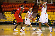 November 27, 2008: Louisiana Tech guard James Loe (25) runs the offense in the opening round of the 2008 Great Alaska Shootout at the Sullivan Arena.