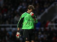 Photo: Andrew Unwin.<br /> Newcastle United v West Ham United. The Barclays Premiership. 20/01/2007.<br /> West Ham's Roy Carroll.