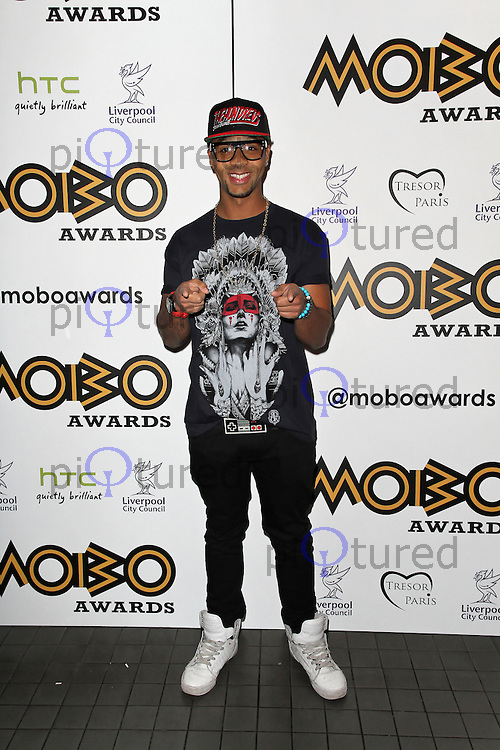 LONDON - SEPTEMBER 17: Esco Williams attended the Nominations Launch of the MOBO Awards at Floridita London, UK. September 17, 2012. (Photo by Richard Goldschmidt)