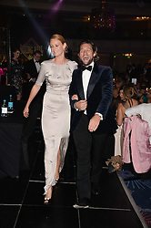 British fine jewellery brand Boodles welcomed guests for the 2013 Boodles Boxing Ball in aid of Starlight Children's Foundation held at the Grosvenor House Hotel, Park Lane, London on 21st September 2013.<br /> Picture Shows:-OLIVIA INGE and JEZ LAWSON.<br /> <br /> Press release - https://www.dropbox.com/s/a3pygc5img14bxk/BBB_2013_press_release.pdf<br /> <br /> For Quotes  on the event call James Amos on 07747 615 003 or email jamesamos@boodles.com. For all other press enquiries please contact luciaroberts@boodles.com (0788 038 3003)