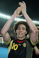 Fotball<br /> EM-kvalifisering<br /> Østerrike v Belgia<br /> 25.03.2011<br /> Foto: Gepa/Digitalsport<br /> NORWAY ONLY<br /> <br /> Bild zeigt den Jubel von Axel Witsel (BEL)