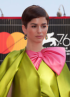 Venice, Italy, 31st August 2019, Mariana Di Girolamo at the gala screening of the film Ema at the 76th Venice Film Festival, Sala Grande. Credit: Doreen Kennedy/Alamy Live News