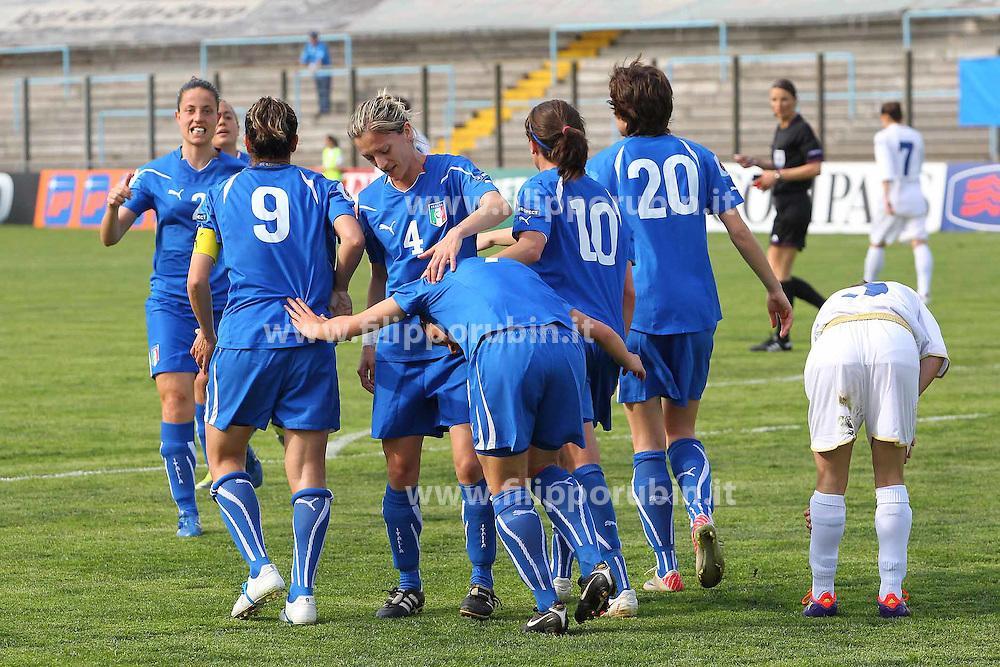 ITALIA - BOSNIA: PRIMO GOAL PANICO