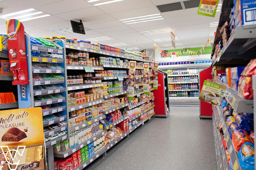 Lincolnshire Co-operative food store, Long Bennington, Lincolnshire.<br /> <br /> Date: September 28, 2015