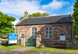 Ullapool Museum on  the North Coast 500 scenic driving route in northern Scotland, UK