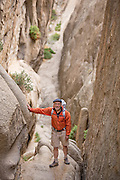 Veteran climber, guide and writer Doug Robinson (age 71) in his beloved Buttermilks