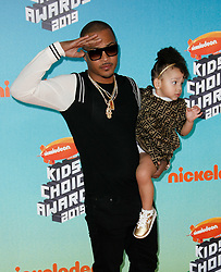 March 23, 2019 - Los Angeles, CA, USA - LOS ANGELES, CA - MARCH 23: T.I. attends Nickelodeon's 2019 Kids' Choice Awards at Galen Center on March 23, 2019 in Los Angeles, California. Photo: CraSH for imageSPACE (Credit Image: © Imagespace via ZUMA Wire)