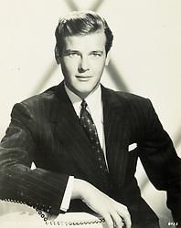 Jun 01, 1955; Hollywood, California, USA; ROGER MOORE, 1955..  (Credit Image: Austral/ZUMAPRESS.com)