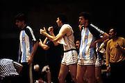 Europei Francia 1983 - Girone eliminatorio Limoges: Panchina Jugoslavia