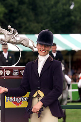 Burghley Horse Trails, final day of show jumping, September 9, 2000. Photo by Andrew Parsons/i-Images..