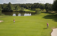 GEIJSTEREN - Hole 15 van  Golf- en Countryclub Geijsteren. FOTO KOEN SUYK