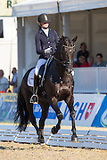Marieke van der Putten - Boston STH<br /> FEI World Breeding Dressage Championships for Young Horses 2012<br /> © DigiShots