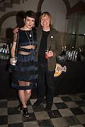 LAUREN JONES; JAMES PUTNAM, Rock and Roll Public Library. Mick Jones and James Putnam and Alteria Art, Calle della Pieta, Venice Biennale, Venice. 6 May 2015