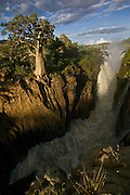 Namibia, 2004 - Magical Epupa falls on the border with Angola is one of Africa's most attractive waterfalls
