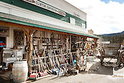 The Clinton Emporium, antiques and western store.  Clinton, British Columbia, Canada