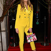 Victoria Brown attend Travel bag brand hosts the launch of its exclusive luxury collection of handbags in collaboration with model and designer Anastasiia Masiutkina  D'Ambrosio on 26 March 2019, Caviar House & Prunier 161 Piccadilly, London, UK.