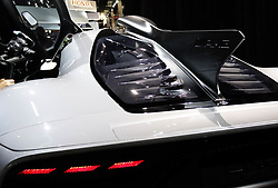 """November 7, 2018 - SãO Paulo, Brazil - SÃO PAULO, SP - 07.11.2018: SALÃO INTERNACIONAL DO AUTOMÃ""""VEL SP 2018 - In the photo, the Mercedes-AMG ONE, the most expensive car of the fair with the value of 2.2275.000,00 Euros. The International Automobile Show of São Paulo, the largest exhibition of the automotive industry in Brazil and one of the largest in Latin America, begins this Thursday (08) at the São Paulo Expo, in the south zone of the city of São Paulo. The event takes place every two years in the city of São Paulo, with the aim of showing the latest developments in the automotive world, exposing cars, equipment and accessories. (Credit Image: © Aloisio Mauricio/Fotoarena via ZUMA Press)"""