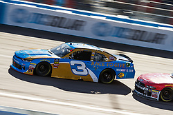 November 10, 2018 - PHOENIX, AZ - NOVEMBER 10: Shane Lee, driver of the #3 CIPT/Race to Give Chevrolet during the NASCAR Xfinity Whelen Trusted to Perform 200 at ISM Raceway on November 10, 2018 in Phoenix, Arizona. (Credit Image: © Doug James/ZUMA Wire)