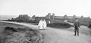 western tourist in Morocco Rabat early 1900s
