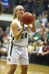 18 March 2011: Holly Harvey during an NCAA Womens basketball game between the Washington University Bears and the Illinois Wesleyan Titans at Shirk Center in Bloomington Illinois.