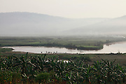 Views of the Akagera River near Kajevuba Village. Juru Sector. Bugesera district. Rwanda.<br /> <br /> &copy; Zute Lightfoot