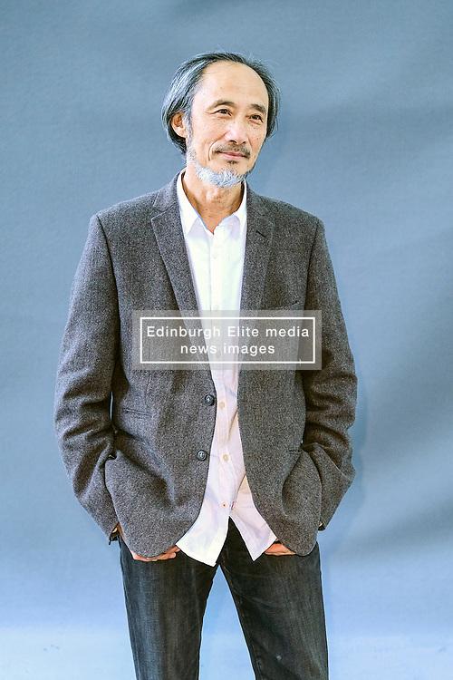 Edinburgh Book Festival, Tuesday, 13th August 2019<br /> <br /> Pictured: Writer and painter Ma Jian <br /> <br /> Alex Todd   Edinburgh Elite media