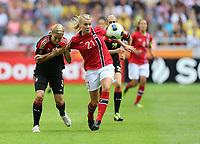 Fotball , EM , Norge - Tyskland 28.juli 2013 , kvinner ,  Sverige , Stockholm , Solna , europamesterskap, finale<br /> Ada Stolsmo Hegerberg<br /> Foto: Ole Marius Fjalsett